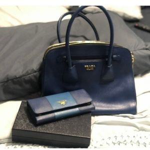 Authentic Prada bag and purse set